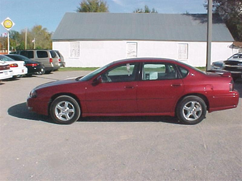 2005 chevrolet impala for sale okeene ok 3 8 6 cyl cylinder red id. Black Bedroom Furniture Sets. Home Design Ideas